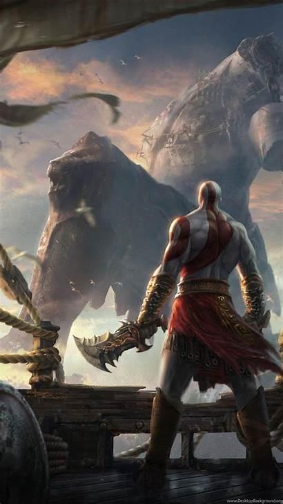 God War Ascension 4k Wallpapers Android Kratos