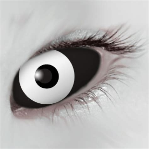 white colored contacts mesmereyez black white scleral eye coloured contacts