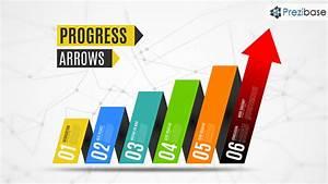 Progress Arrows Prezi Template