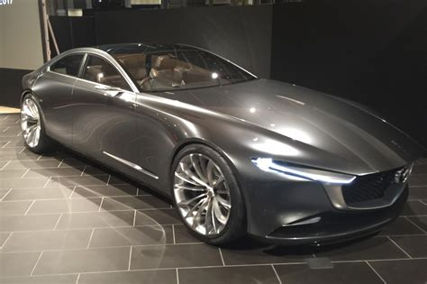 Mazda Car : Mazda Goes Subtle With Vision Coupe At Tokyo 2017 By Car