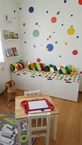 Buntes Kinderzimmer Kinder Leseecke Ikea