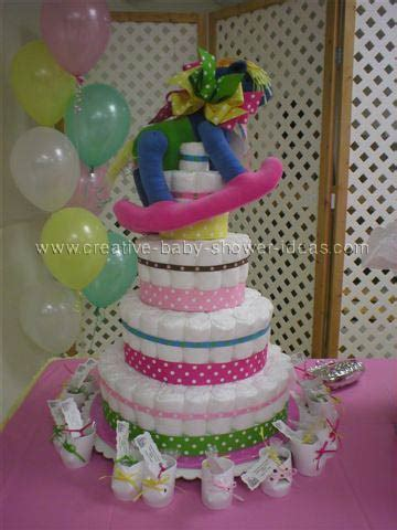 easy diaper cake directions