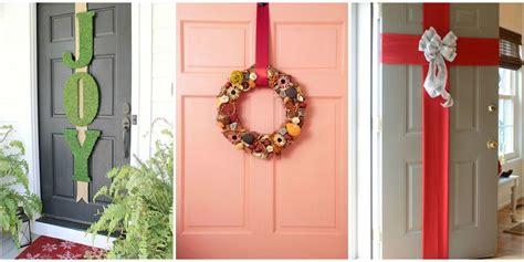 christmas door decorations   decorate