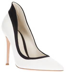 shoe luv the daily heel giavanito rossi black and white