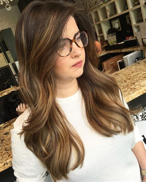 light brown highlights on brown hair 6607 best images on hair cut hair dos