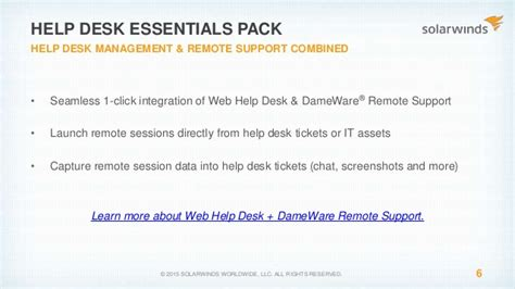 solarwinds web help desk demo get your it together discover organize your it assets