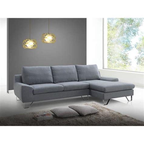 canapé angle polyuréthane prix canapé quot trendy quot gris angle gauche achat
