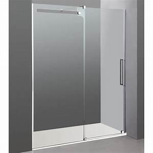 paroi de douche coulissante phebe robinet and co paroi de With porte de douche coulissante avec miroir salle de bain bluetooth 120