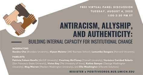 antiracism allyship  authenticity building internal