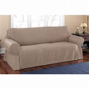 Mainstays sherwood slipcover sofa walmartcom for Sectional sofa slipcovers walmart