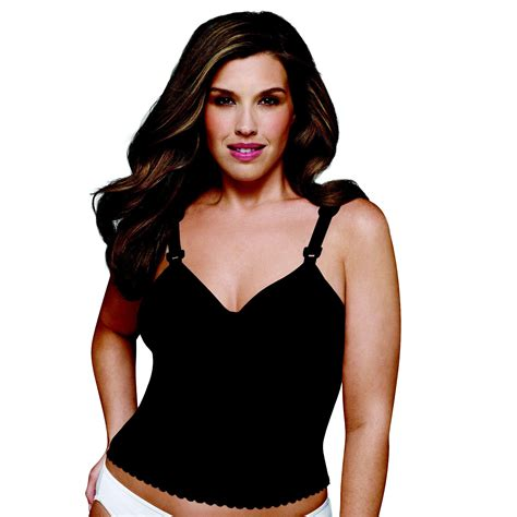 sears exquisite form bras women s intimates black long line bra get a sleek look