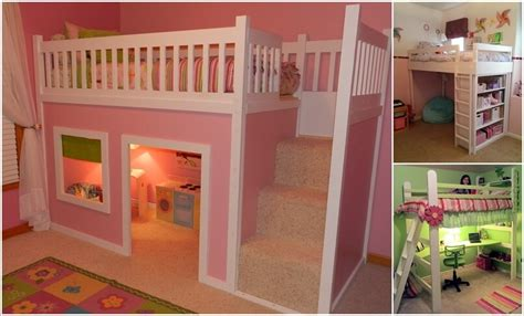 Amazing Diy Loft Bed Designs For Your Kids' Room