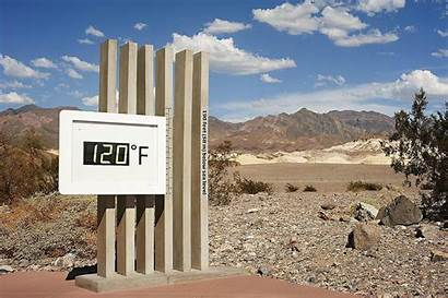 Record Temperature Highest Weather Furnace Creek Valley