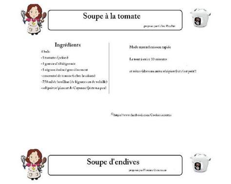 cuisiner avec cookeo livres recettes cookeo à imprimer pdf recettes cookéo
