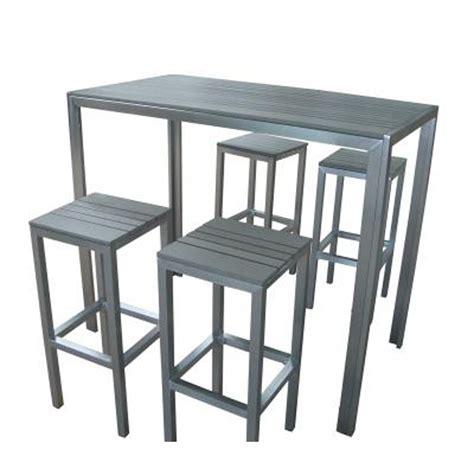 tables hautes de cuisine table rabattable cuisine tabouret pour table haute