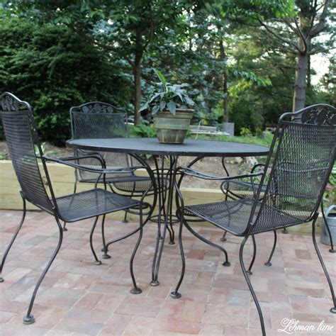 Spray Paint Patio Furniture  Our Vintage Wrought Iron. Executive Patio Furniture Set. Woodard Patio Furniture Paint. Design A Patio Door. Small Wood Patio Table Plans. Pvc Patio Furniture Levittown Pa. Add On Patio Door Blinds. Build A Backyard Patio Roof. Indoor Patio Decorating Ideas