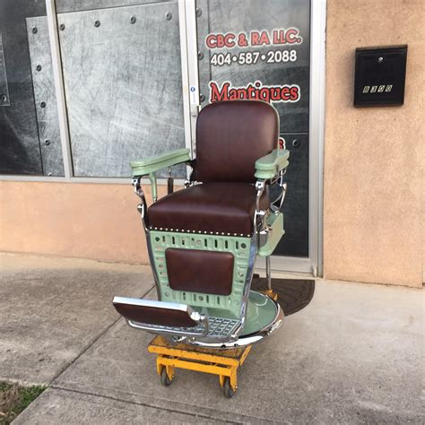 emil j paidar 4 custom barber chairs and restorations