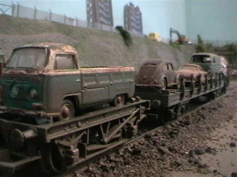 volkswagen junk yard train youtube