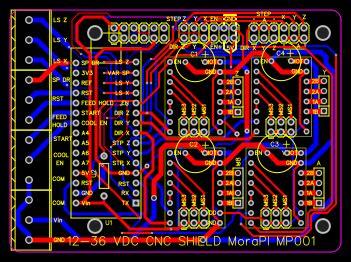 cnc shield  arduino nano resources easyeda