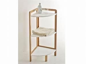 Petite étagère D Angle : petit meuble salle de bains notre s lection elle d coration ~ Teatrodelosmanantiales.com Idées de Décoration