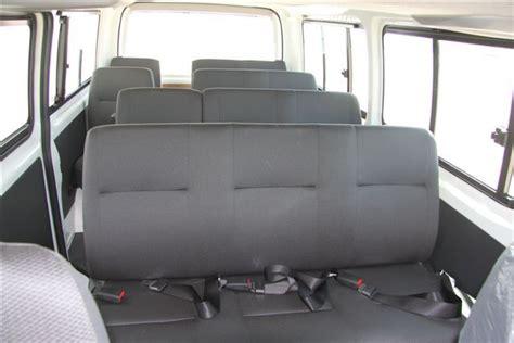 toyota hiace  seats std roof  mpv minibus van