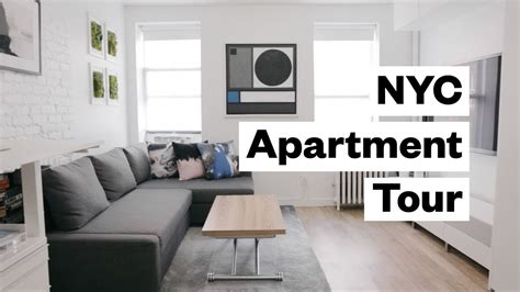 300 apartment sq foot studio tour nyc decorating square apartments tiny interior space bed living ikea lot murphy
