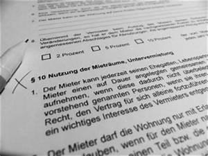 Wohnung Vermieten Was Muss Ich Beachten : untervermietung was muss ich beachten pflichtlekt re ~ Indierocktalk.com Haus und Dekorationen
