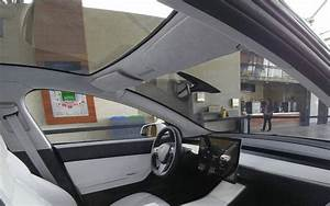 Tesla Model 3: new interior image highlights the puzzle inside the vehicle - Electrek