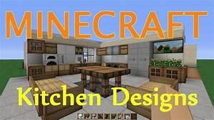Minecraft Kitchen/Dining Room Design Ideas - YouTube