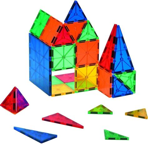 magnetic building tiles 7 great shapes to build with magnetic tiles