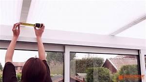 Comment Isoler Sol Pour Vérandas : mesures pour un store velum au plafond d 39 une v randa ~ Premium-room.com Idées de Décoration