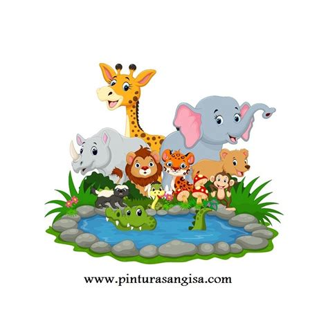 VINILO INFANTIL ANIMALES Pinturas Angisa