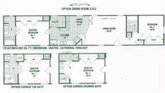 16x80 Mobile Home Floor Plans by Single Wide Mobile Home Floor Plans Used Single Wide