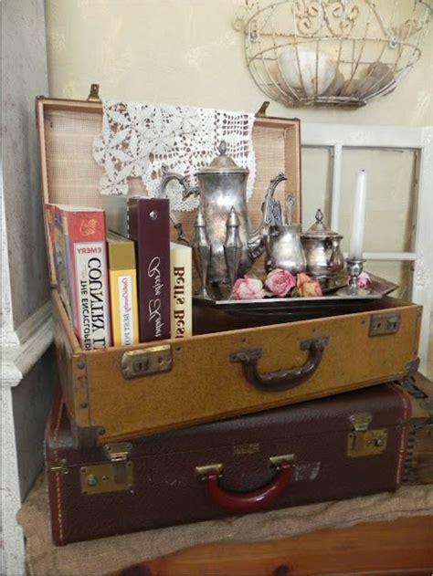 idees avec la valise vintage