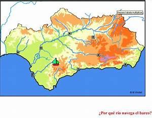 Ríos de Andalucía en juego interactivo interactivo Didactalia: material educativo