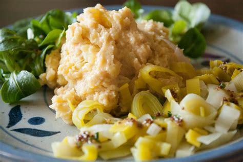 cuisine pour debutant purée de pommes de terre et poireaux vinaigrette cuisine