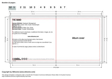 Cd Liner Notes Template Word by Search Results For Template Calendar 2015