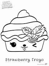 Num Noms Coloring Nom Kolorowanki Gambar Mewarnai Colouring Coloriage Froyo Sushi Kawaii Dla Nilla Dzieci Printable Cupcake Strawberry Colorear Season sketch template