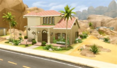 house  oasis springs   sims sims  updates