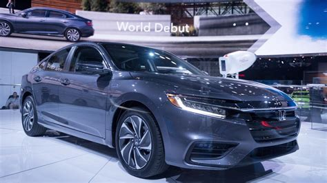 2019 Honda Insight Debuts At The New York Auto Show