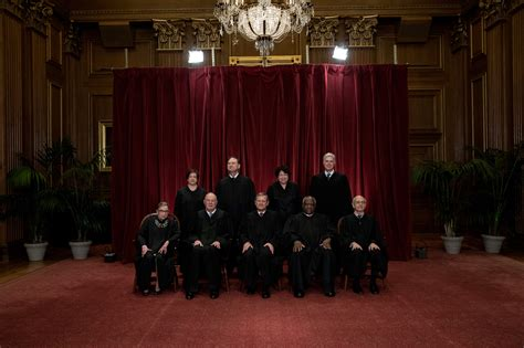 about the supreme court supreme court how the new family photo was taken time