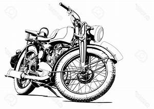 Racing Motorcycle Clipart Black And White | SOIDERGI