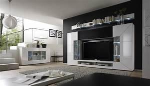 Wohnzimmer Ideen Modern : wohnwand design modern ~ Michelbontemps.com Haus und Dekorationen