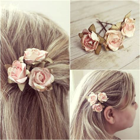 ideas  flower hair accessories  pinterest
