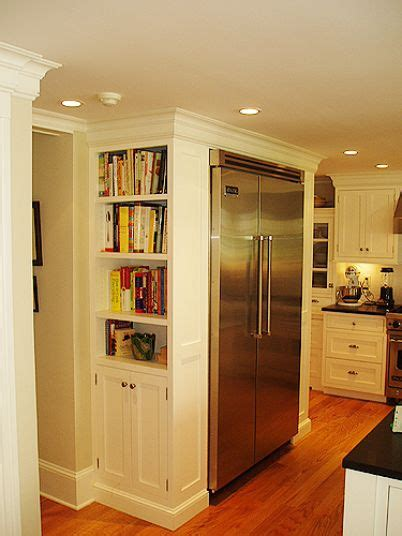 side of kitchen cabinet ideas 25 best ideas about kitchen bookshelf on