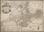 A new plan of ye great town of Boston in New England in ...