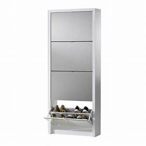 meuble chaussure miroir With meuble d entree chaussures 5 armoire chaussure avec miroir