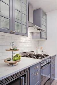 80 cool kitchen cabinet paint color ideas With kitchen colors with white cabinets with gray and purple wall art