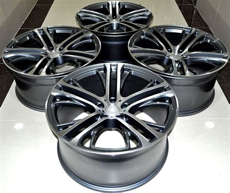 xm style staggered alloy wheels fit bmw