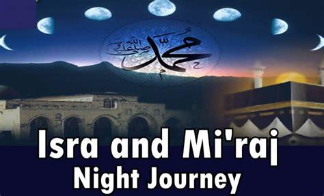 significance  al isra  al miraj